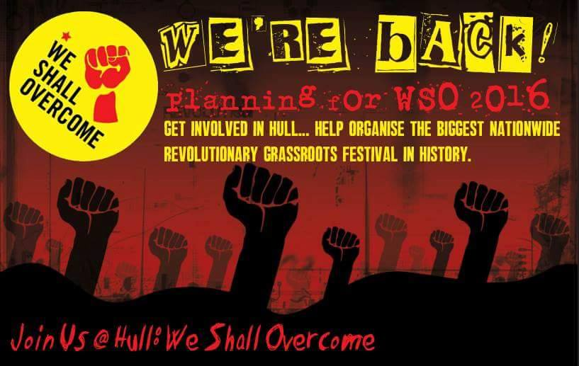 WSO Hull 2016 Rally Cry